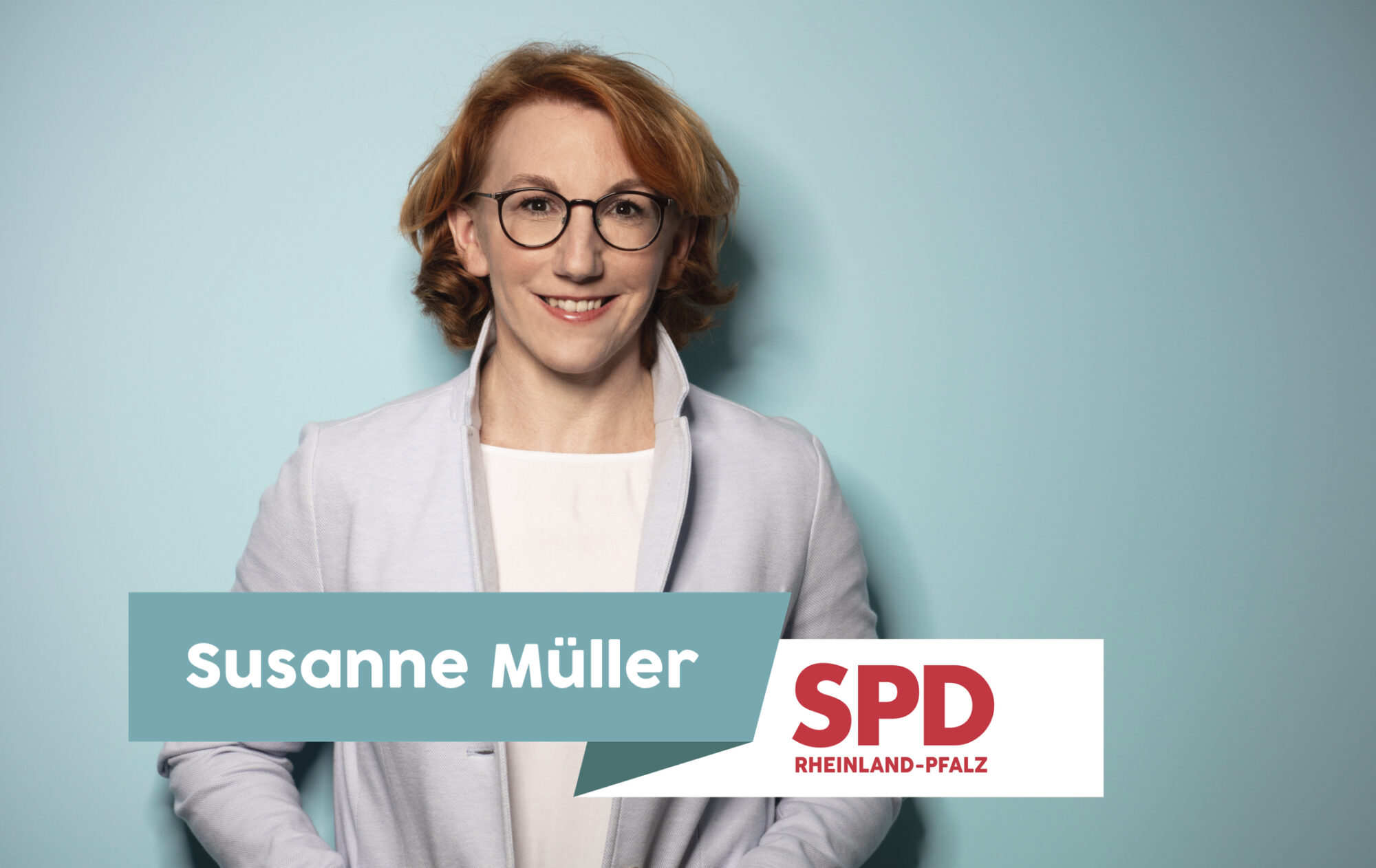 Susanne Müller - SPD- Kandidatin für den Landtag Rheinlad-Pfalz